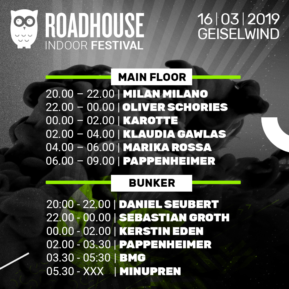 Roadhouse-Festival History - Lineup 2019